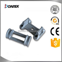 Custom lost wax casting part with zinc coated