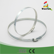 China manufacture high quality stainless steel hose clamp pipe clamp
