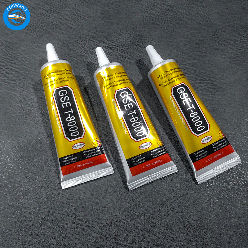 FORWARD Hot sale Industrial <strong>Adhesive</strong> T-8000 50ml Clear Glue Epoxy Resin For Phone Glass Frame <strong>Adhesive</strong>