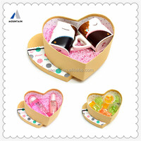 Heart Shaped Chocolate Box for Wedding Invitation