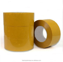 Wholesale Beige Sealing yellow self adhesive carpet binding bopp tape 4.5*2.7CM