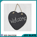 Hearts shape hanging slate sign board /advertising sign boards / wedding sign