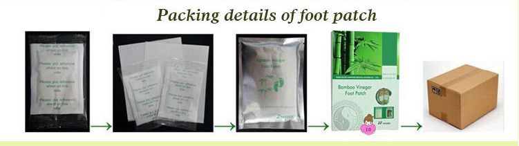 Natural Health Care Relief Your Foot Toxins Removal Detox Foot Patch