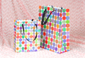 colorful Christmas Paper Bag/Gift Bag/Shopping Bag with handles