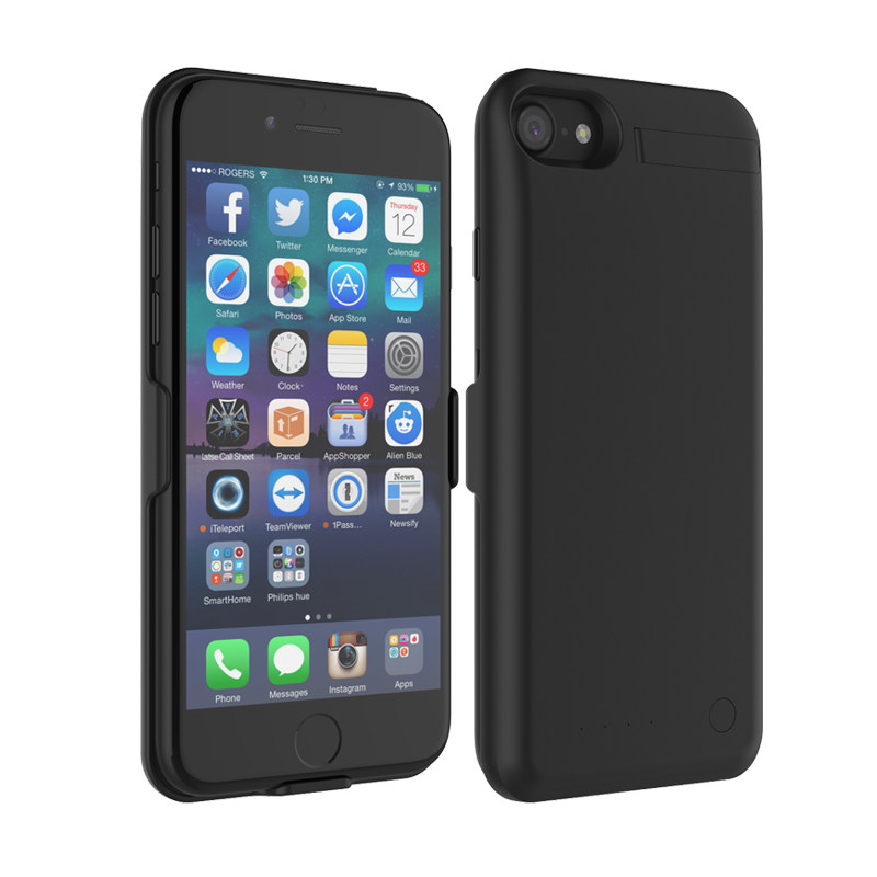 For iphone 7 battery case power bank 4000mAh cell phone power case for iphone 6/6s/7