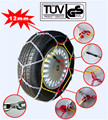 KN 12mm Car Snow Chains with TUV/GS and Onorm V5117 Group 130