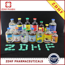 GMP Pharmaceutical factory supply OEM 10ml 50ml 100ml 1% ivermectin injection