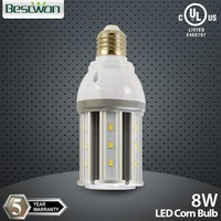 Reliable quality high power 8w led corn bulb IP64 Samsung LED