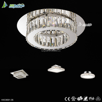 LED round ceiling lighting fixture wire cut high quality modern ceiling light HXC8001-35
