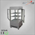 New style four glass upright refrigerating showcase