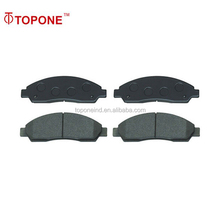 Competition prices brake disc pad of brake cost for Isuzu 18047054 WVA24370