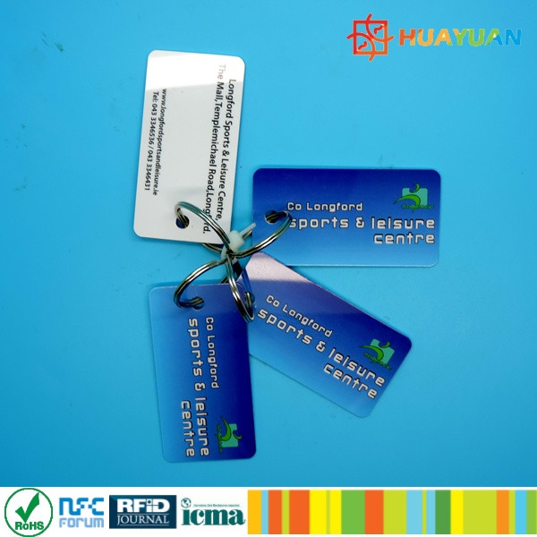 Variable Data Printing13.56MHz MIFARE Classic 1K NFC Membership Card with Barcode