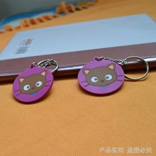 2017 New Customized Cartoon Soft PVC Key Chain /Silicone Rubber Key chain