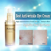 Private Label the Best anti aging anti wrinkle firming snail eye cream
