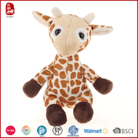 2016 purchase plush lovely giraffe in BSCI quality Chinese manufacture