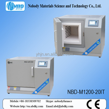 Lab instrument manufacturer Programmable control ceramic sintering electric chamber furnace NBD-M1200-20IT