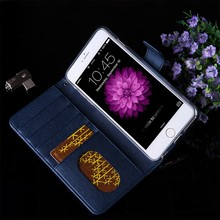 luxury leather phone cases, stand function wallet flip cover with magnet for iphone 6