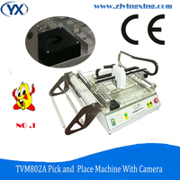 TVM802A LED Light Assembly Line BGA Machine SMD Components Pick and Place SMT Equipment