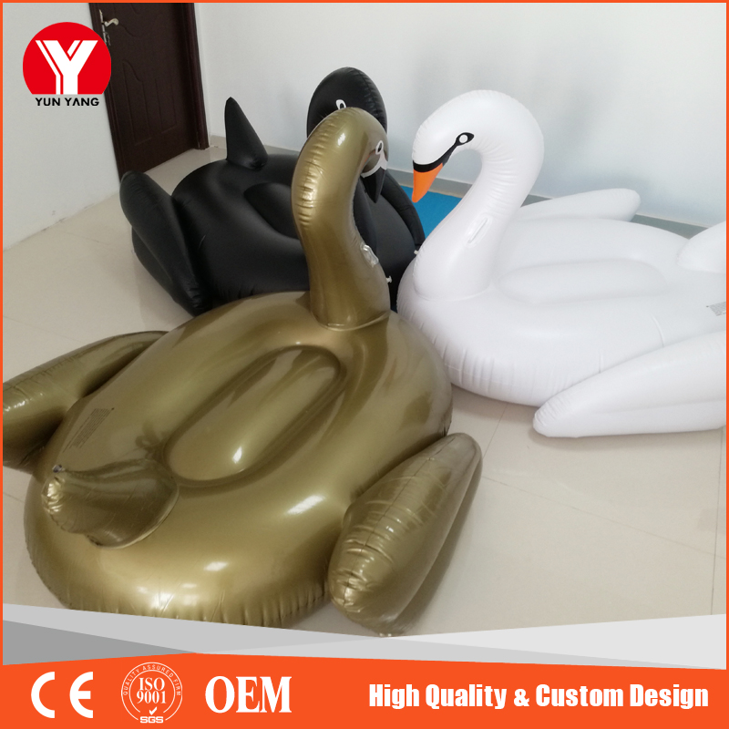 perfect summer hot inflatable water pool swan floaties for water play