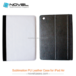 2014 New Items!! 360 Rotate Sublimation Leather Tablet Case For iPad 5