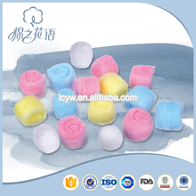 Medical consumables fully stocked baby cotton balls