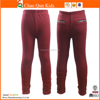 custom wholesale hot children clothing girls printing pants of leggings