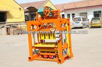 QT4-40 manual compressed earth block machine price for small family to do business