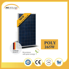 High Efficiency AE SMP6-60 Series 265W Hot-sport Free Module Poly Solar Panel With Low Price
