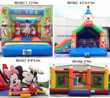 Inflatables Games Bouncing Castle Combo Inflatable Bounce House