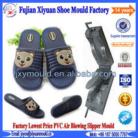Custom Man PVC Air Blowing Slipper Mold Sandal Mold Shoe Mold