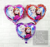 Frozen Party Anna Elsa Foil Balloon Birthday Party Wedding Decoration Baby Kids Cartoon Balloons Gift