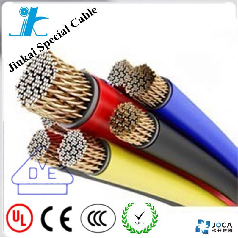 Silicone Rubber Insulated Wire Automobile heat and cold resistant electric wire and cable 16mm