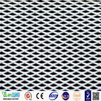 Factory Medium Expanded Metal mesh/Heavy Duty Steel Wire Small Hole BBQ Grill Expanded Metal Mesh (100% factory)