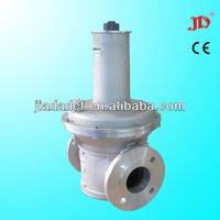 (pressure relief valve) 4 bar fuel gas pressure reducing valve(relief valve)dn65