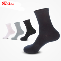200 sewing needle hand boneless cotton Men business socks thin Pure color Basketball socks