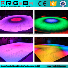 professional 1m*1m portable led digital dance floor for stage wedding party