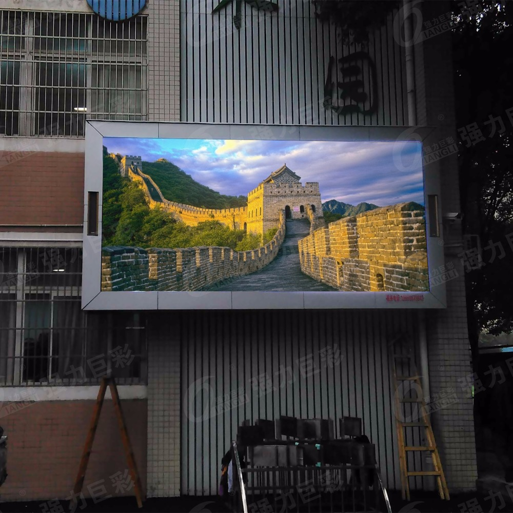 High Definition P6 Full RGB Color Outdoor SMD led display panel module for Adversting
