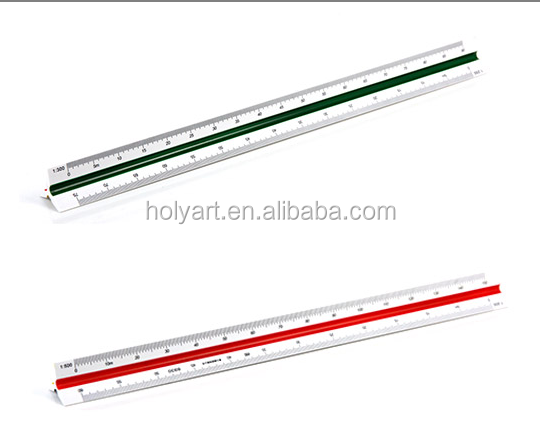 hot sale triangular scale ruler