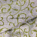 Polyester Flocking linen look fabric for sofa cover curtain fabric wholesales