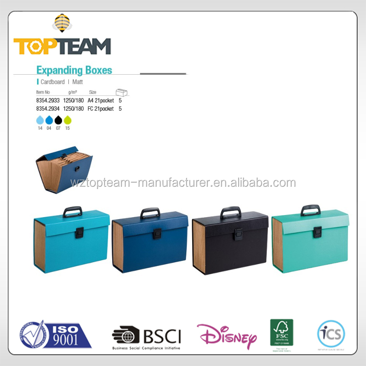 Best selling eco-friendly Cardboard File Box /Folding Cardboard File Box/Box file