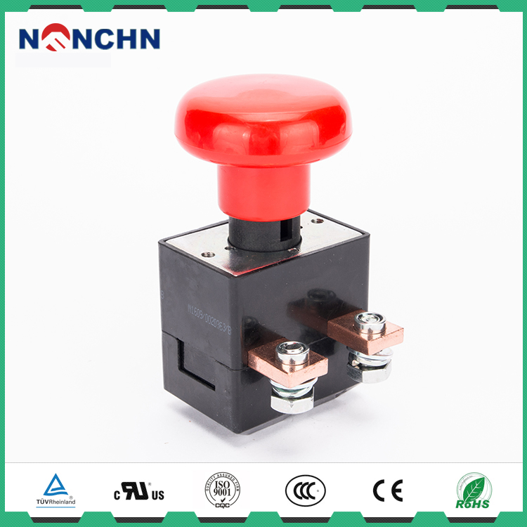 NANFENG 250 Amp 80V Electrical Round Emergency Stop Push Botton Switch