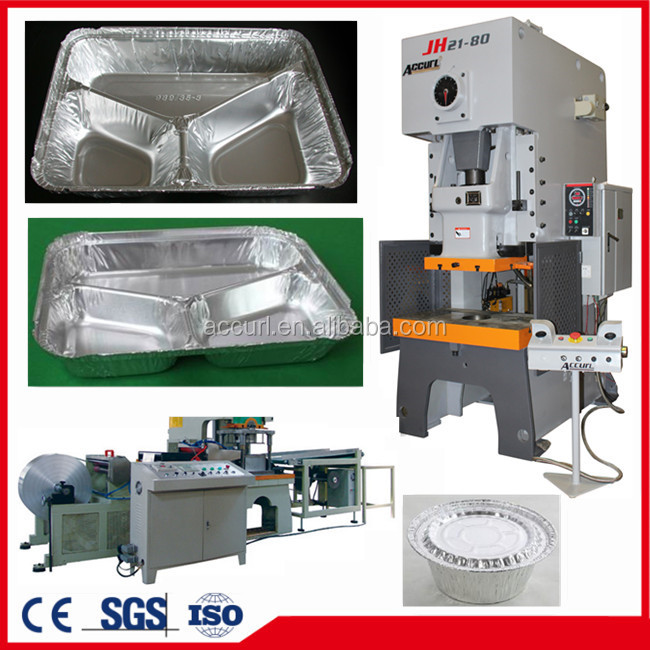 JH21-120T C Type Punching Machinery(Takeaway Food Packaging Aluminium Foil Container Making Machine)