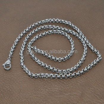 floating locket chains 316 stainless steel chain stainless steel wallet chains