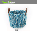 Cotton Rope Storage Basket Multi Color Storage Basket With Good Quality