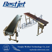 BESTJET WRC1530 conveyor belt with coding machine