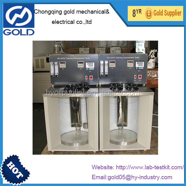 Foaming Characteristics Apparatus of Lubricating Oil Laboratory Foam Determination Equipment ASTM D892