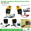Pure Sine Wave UPS Inverter 12v dc battery backup power supply with AC/Car/Solar 3 ways for charging