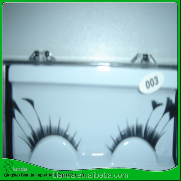 charming feather lashes