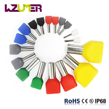 WZUMER Electric terminal connector Wire End Terminal red yellow Crewel Tube Pre-insulating Terminal block