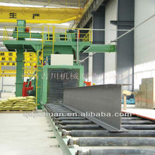 h beam shot blasting machine used sand blasting machines